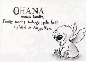 frasi sulla famiglia ohana